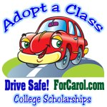 ForCarol.com Adopt-a-class-happy-car