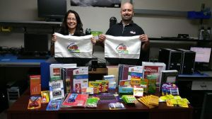 NNIS donates classroom supplies