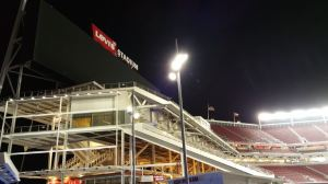 levis stadium at night 1