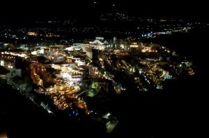 Thira Greece at Night