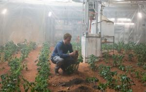 the martian botanist