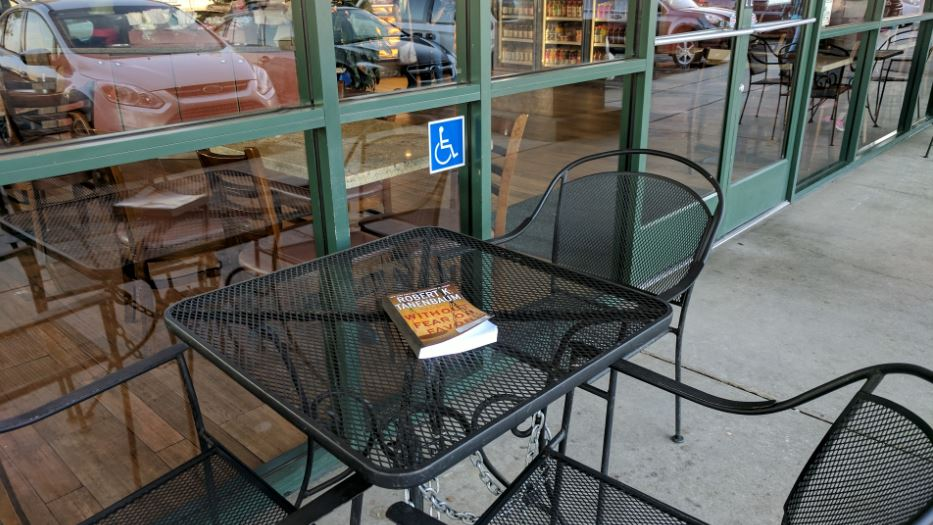 Bagel street cafe book drop