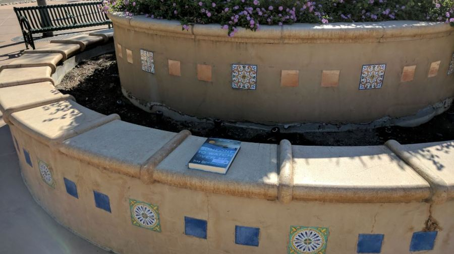 book drop at the tracy transit center