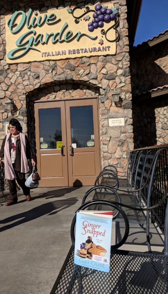 book drop at olive garden