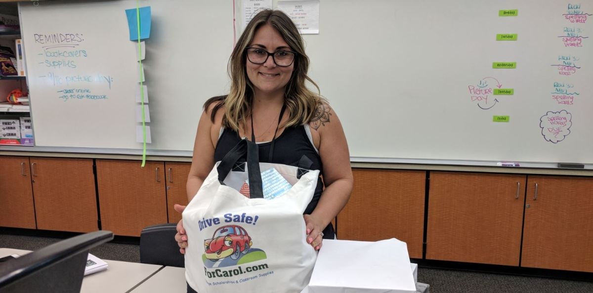 "2018 ""Fill-the-Bag"" with Classroom Supplies for Teachers"