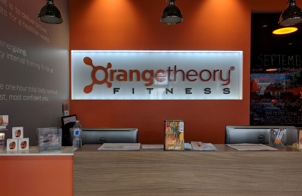 orange theory gym Sept 2018